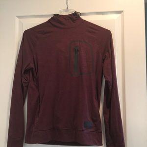 American Eagle hooded shirt